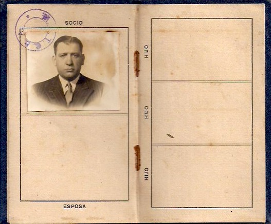 Collection of 5 Miniature Identification 'Passports' from Buenos Aires. Dated 1940's to 60's. Purchased at antique store in Buenos Aires. Measure from 1.75 x 2.5 inches to 2.75 x 4.5 inches. Asking $75 for the set.