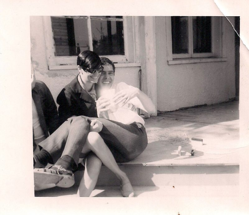 Vintage Photograph, Adorable Couple so in Love, Measures 3.25 x 4 inches. Creased at top right. $10