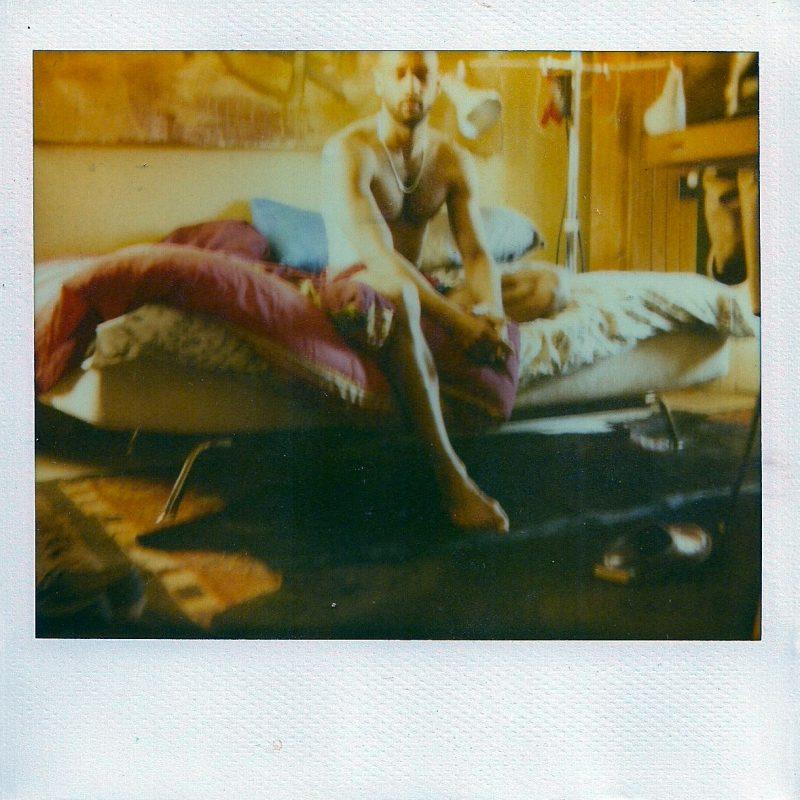 Original Polaroid, Photograph by Guy Berube (Ottawa, Canada), 'Devin', 4 x 4 inches, $250.