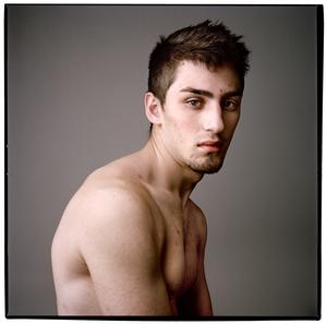 Olivia Johnston (Ottawa, Canada), Male Portrait, Photograph, 20 x 20 inches,  2010, $600.