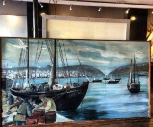 St John's, Newfoundland Massive Painting