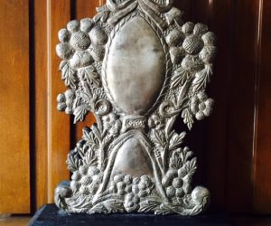 Unique Silver Decorative Sculpture