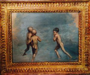 Alvin Ross (1920-1975) 'Boys Bathing'
