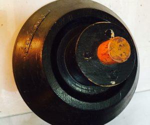 Antique Industrial Wooden Gear