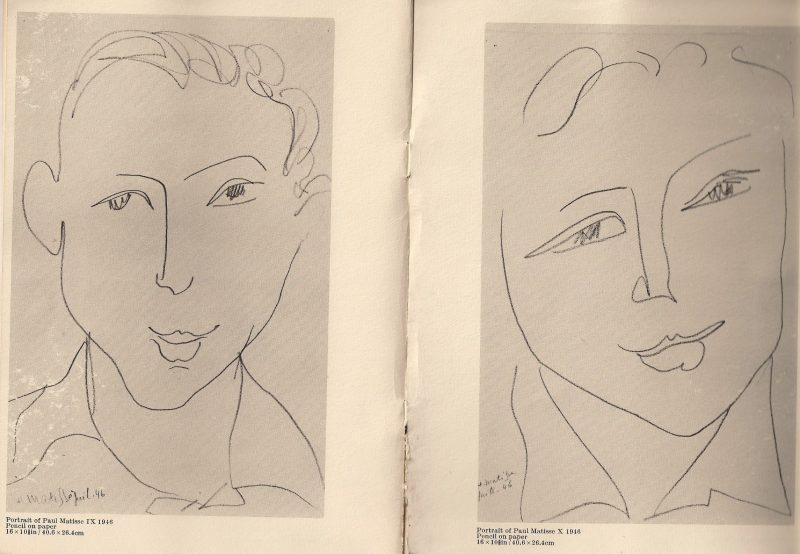 Original exhibition catalogue entitled 'Henri Matisse / Ten Portrait Drawings of Paul Matisse' by Thomas Gibson Fine Art Ltd, 9A New Bond Street, London, W1Y 1PE. Exhibit runs 14 April to 22 May 1972.