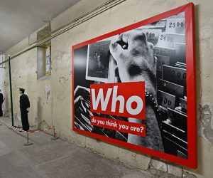 Barbara Kruger 'Who Do You Think You Are'