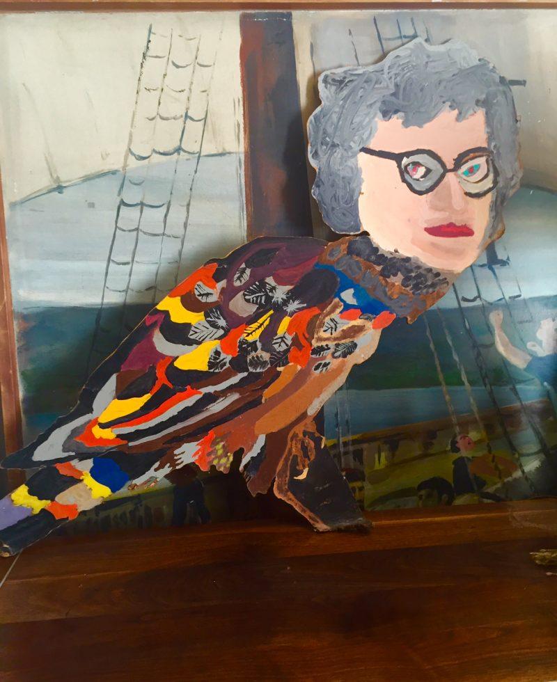 Edith the Bird Lady Artwork.