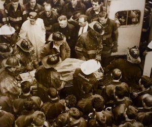 Rare Authentic Photograph NYC Firemen.