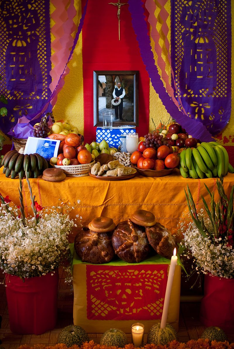 Traditional Day of the Dead Altar,  to be recreated in a contemporary manner by LPM projects and invited locals.
