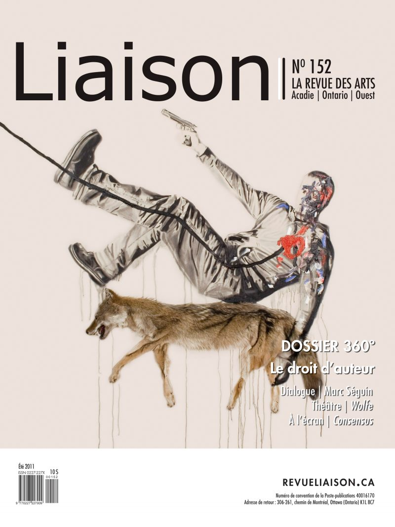 Laison Magazine Cover, with Marc Seguin. 2011