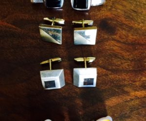 Collection of 4 Vintage Cufflinks.