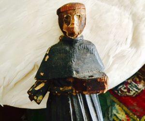 Antique Relgious Sculpture