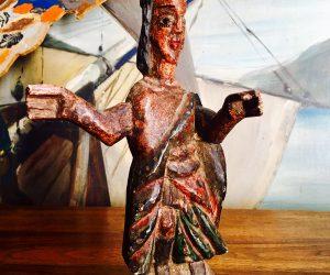Antique Wooden Sculpture