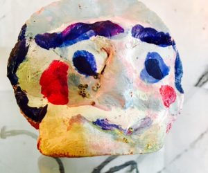Outsider Clay Sculpture