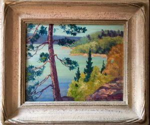 Leonard Amos Original Painting