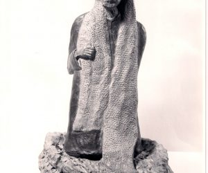 Bronze Sculpture Ezra Pound 1968