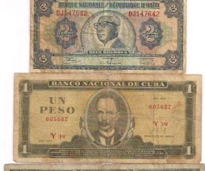 Misc. Vintage Foreign Currency