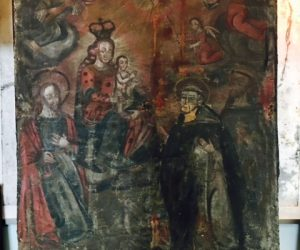 Religious Painting 1880's Refurbished