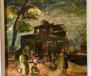 Painting by Jean Frances Tweedie